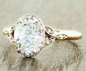 diamond and engagement ring image