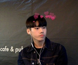 asian boy, heart, and swag image