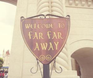 far far away, shrek, and welcome image