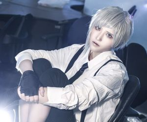 awesome, cosplay, and white hair image