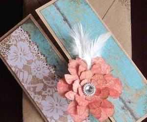 invitation, vintage, and wedding image