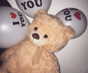 bear, iloveyou, and rich image