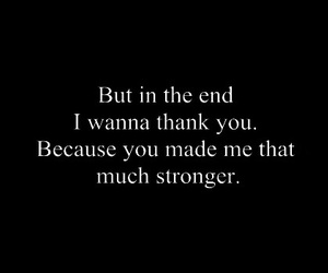 strong, quotes, and thank you image