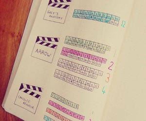 bullet journal and planner image