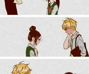 couple, manga, and hirunaka no ryuusei image