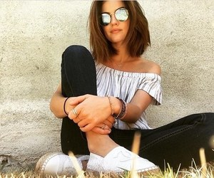 actress, beauty, and sunglasses image