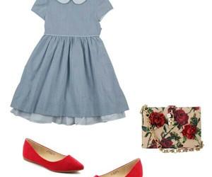 dress, fashion, and Polyvore image
