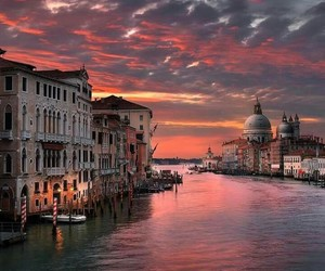 color, venecia, and sky image