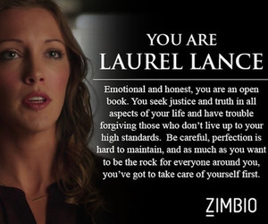arrow, laurel, and quote image