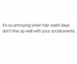 hair, social, and events image