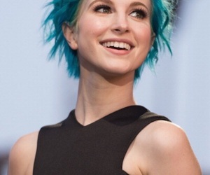 paramore, hayley williams, and blue hair image