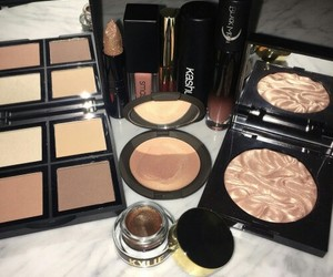 girly, makeup, and pretty image