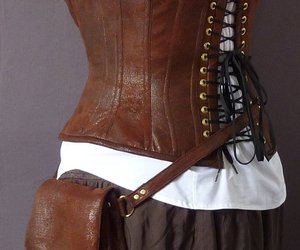 corset, fashion, and steampunk image