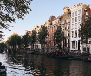 amsterdam, girl, and the netherlands image