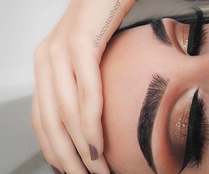 beauty, eye looks, and makeup goals image