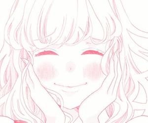 manga and pink image
