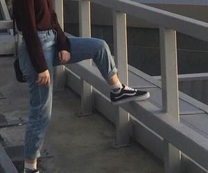 tumblr, vans, and grunge image