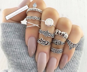 girl, jewellery, and nails image
