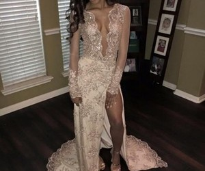 prom dress, prom dresses, and elegant prom dresses image