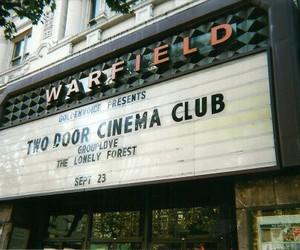 two door cinema club, indie, and vintage image