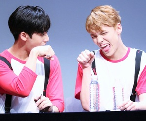 Seventeen, vernon, and mingyu image