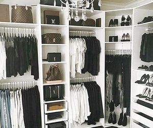 fashion, closet, and home image