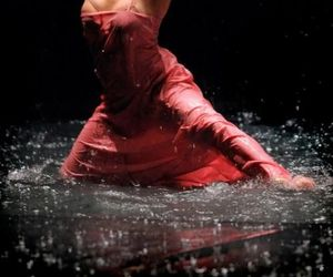 dance, Pina Bausch, and water image
