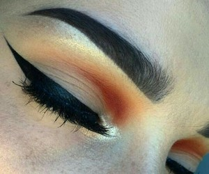 indie and makeup image