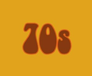 70s, yellow, and alternative image
