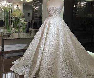 dress, wedding, and Dream image