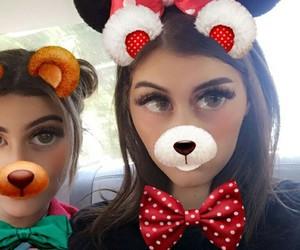 kelsey, sahar, and kelsey calemine image