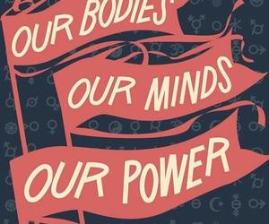 power, feminist, and girl power image