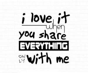 love, quote, and share image