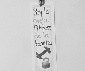 fitness, frases, and gym image