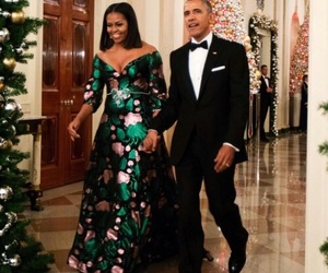 president, first lady, and michelle obama image