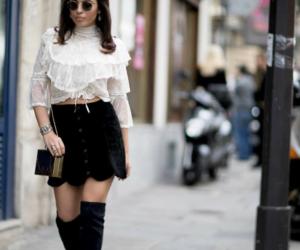 fashion week, paris street style, and fashion blogger image