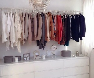 wardrobe, Dream, and fashion image