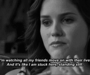 quote, one tree hill, and friends image