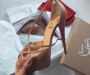 heels, luxe, and pretty image