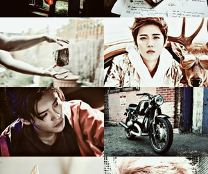 aesthetic, hunhan, and exo image