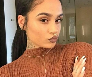 kehlani, beauty, and tattoo image