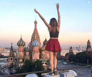travel, adventure, and moscow image