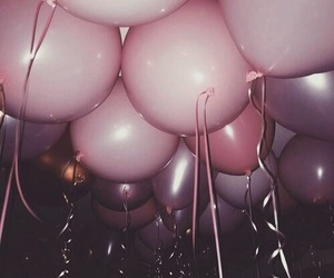 balloon, birthday, and cute image