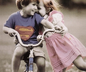 cute, love, and superman image