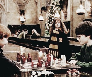 christmas, harrypotter, and ron image