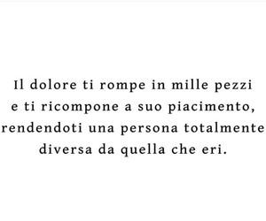 frasi italiane, dolore, and frasi tumblr image