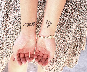 tattoo, harry potter, and deathly hallows image