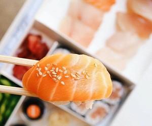 fish, food, and salmon image