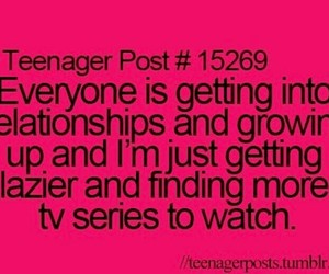 Lazy, teenager post, and Relationship image