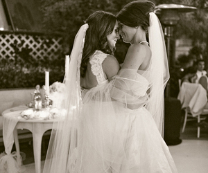 lesbian, gay, and wedding image